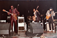 Playing in the Albert King Band